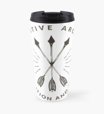 Primitive Archery - Ancestral Knowledge - Tradition and Skill Travel Mug