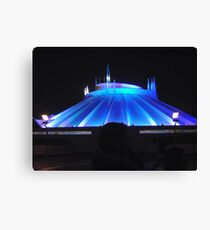Space Mountain but different Canvas Print