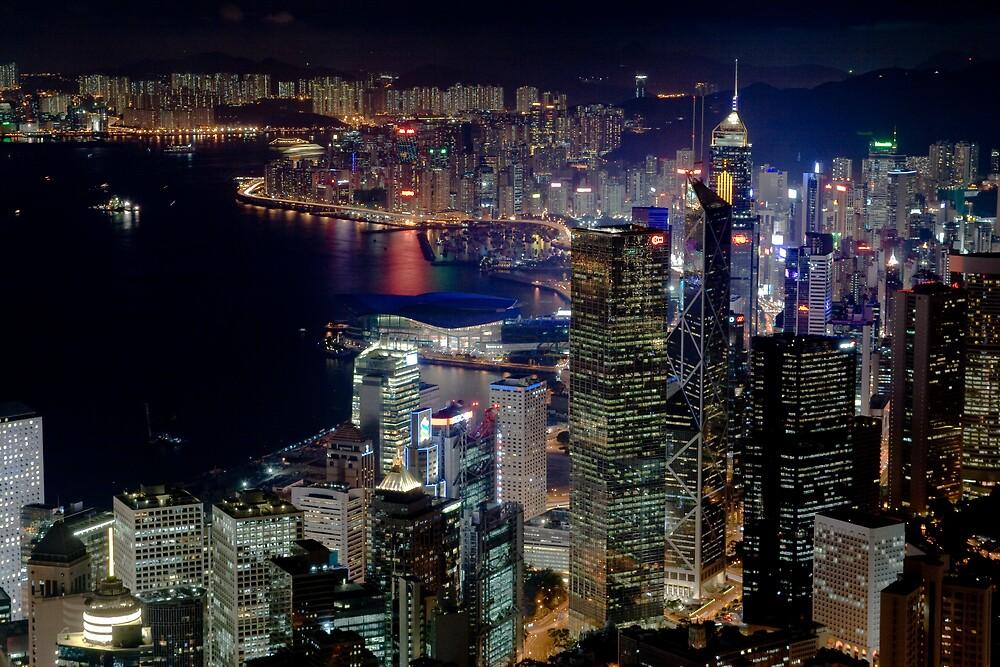 Hong Kong Skyline by Chris Putnam