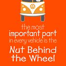 The Nut Behind the Wheel by CampWestfalia