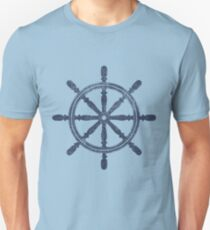 Nautical Wheel Unisex T-Shirt