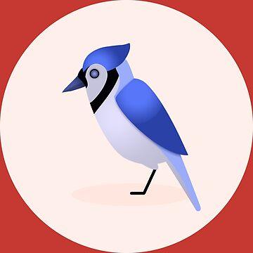 Eastern Blue Jay by mpriorpfeifer