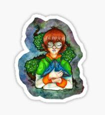Sassy 'n Space Sticker