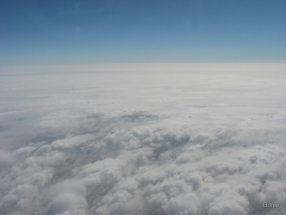 Above the clouds by Bonie