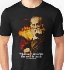 Walt Whitman American Poet Slim Fit T-Shirt