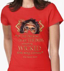 "Shakespeare Macbeth ""Something Wicked"" Quote T-Shirt"