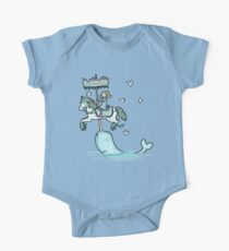 Narwhal Carousel One Piece - Short Sleeve