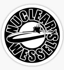 Nuclear Wessels Sticker