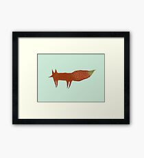 Sly Fox. Framed Print