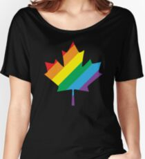 lgbt canada pride Women's Relaxed Fit T-Shirt
