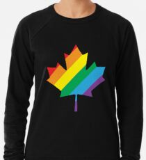 lgbt canada pride Lightweight Sweatshirt