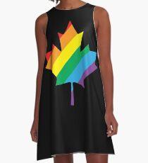 lgbt canada pride A-Line Dress