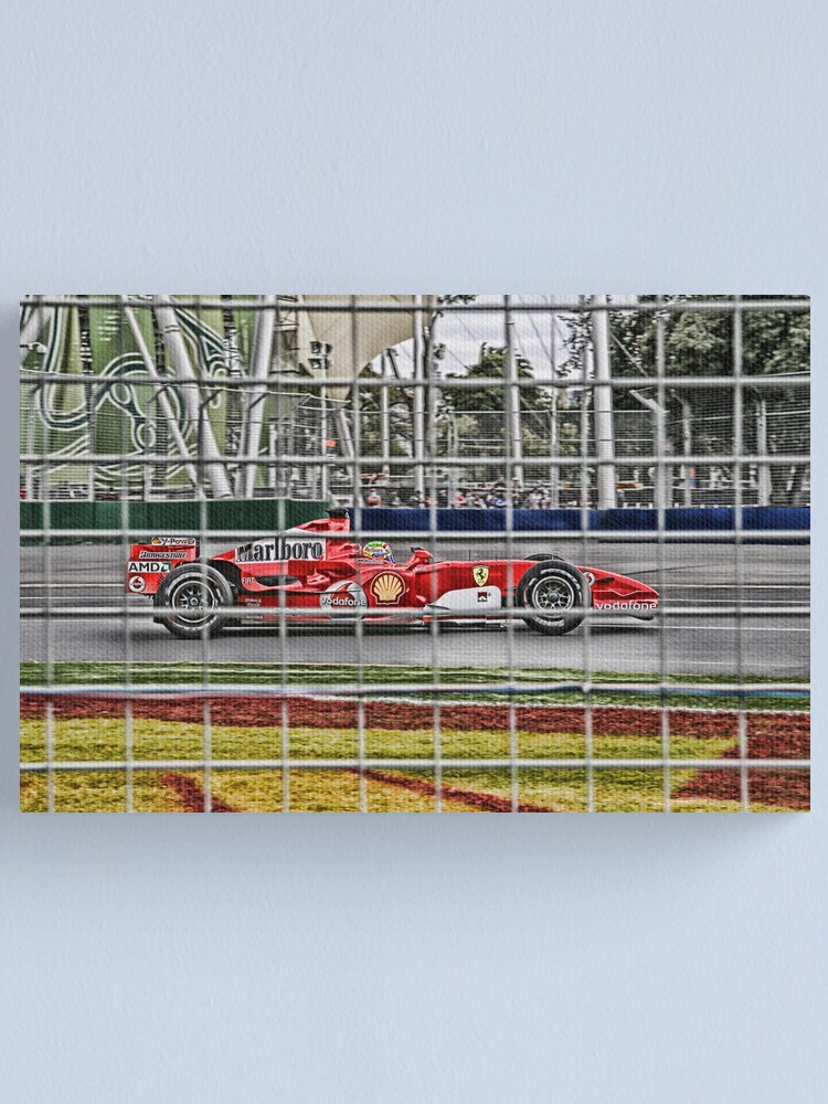 Alternate view of Formula 1 Grand Prix - Ferrari Canvas Print