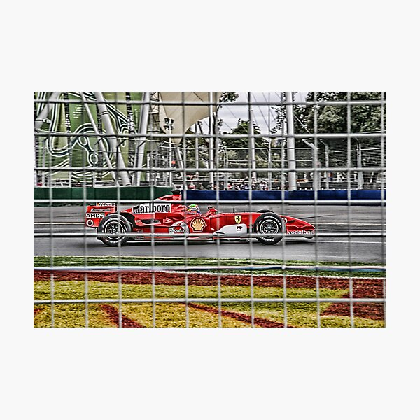 Formula 1 Grand Prix - Ferrari Photographic Print
