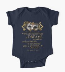 Shakespeare The Tempest Dreams Quote One Piece - Short Sleeve