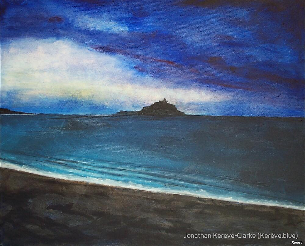 Cornish Sunset by Jonathan Kereve-Clarke (Kerêve.blue)