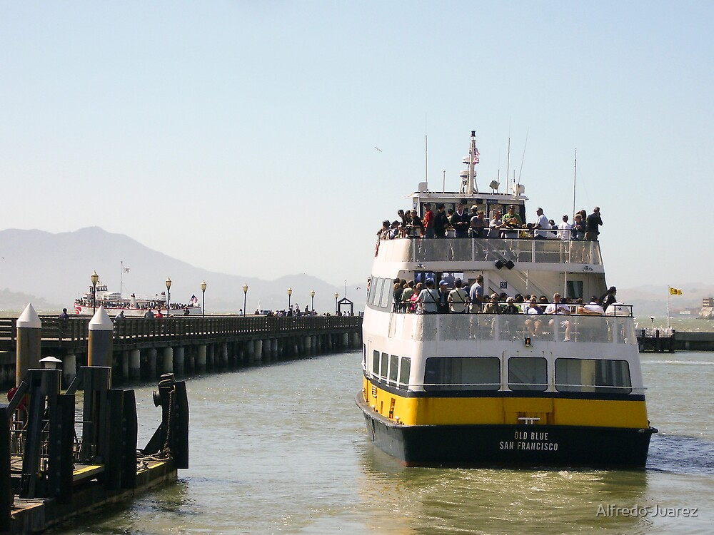 Going to Alcatraz by Alfredo Juarez
