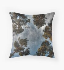 Can't See the Forest... Throw Pillow