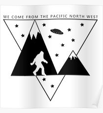 Pacific North West Poster