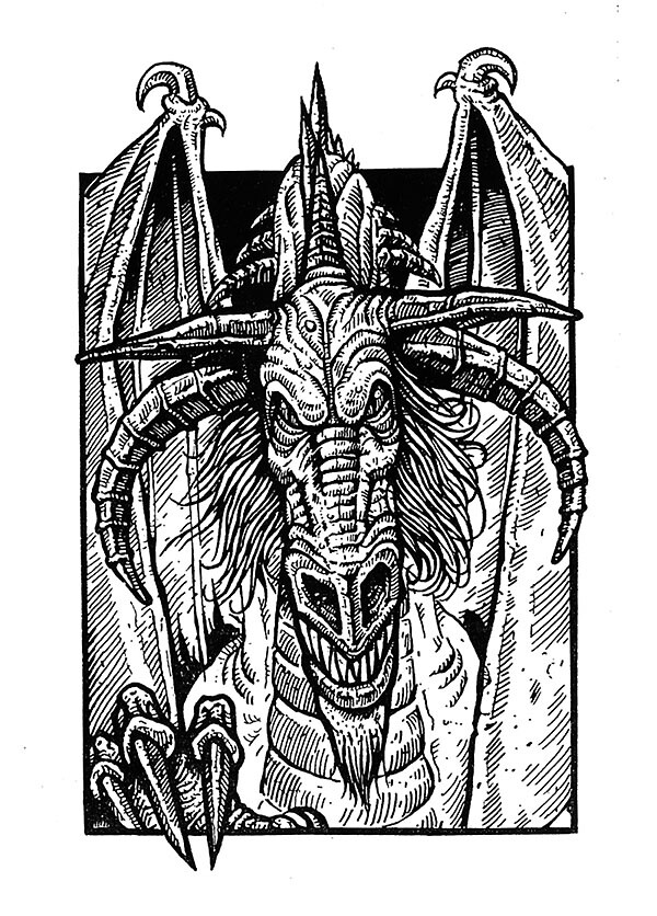 Ice Dragon by Edward Crosby