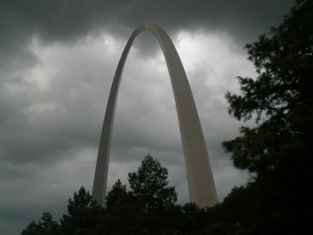 Stormy Arch Days by Steven Slusher
