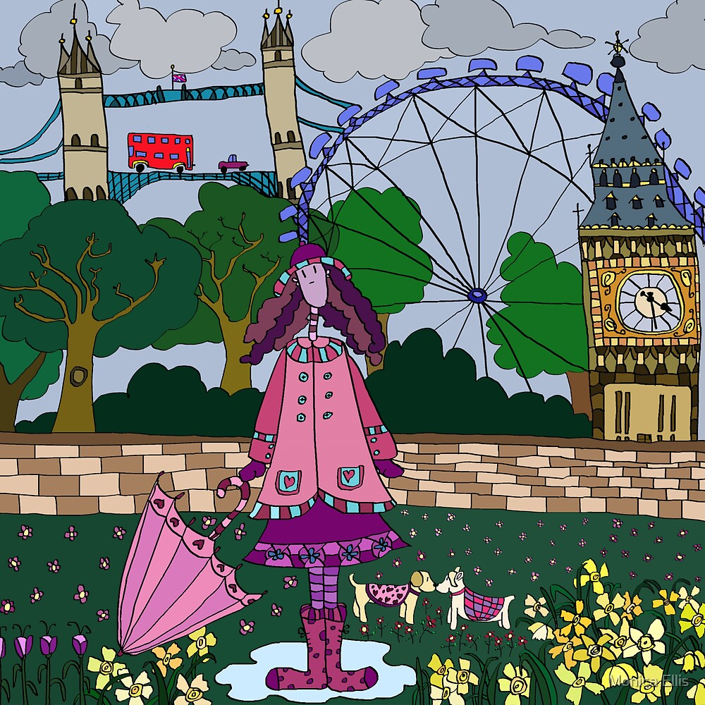 Silly London by Monica Ellis