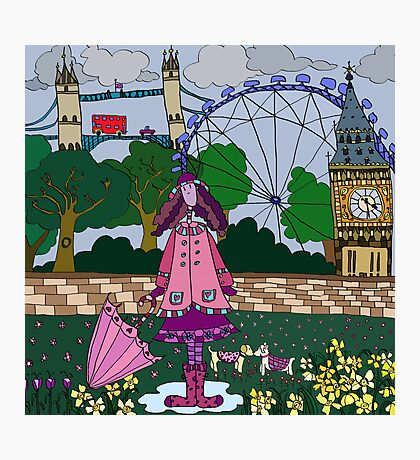 Silly London Photographic Print