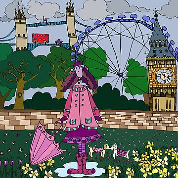 Silly London by monica
