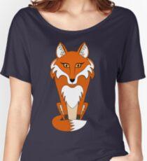 STARING FOX Women's Relaxed Fit T-Shirt