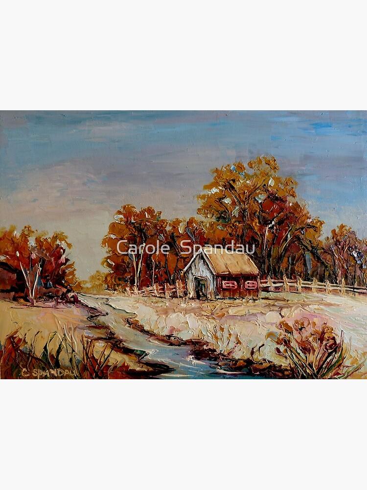 Best Selling Canadian Landscape Paintings By Canadian Artist Carole Spandau Greeting Card By Carolespandau Redbubble