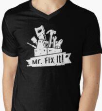 Mr Fix It Men's V-Neck T-Shirt