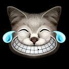 EMOTIONS CAT BURST LAUGHING by MEDIACORPSE