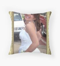 happy prom day Throw Pillow