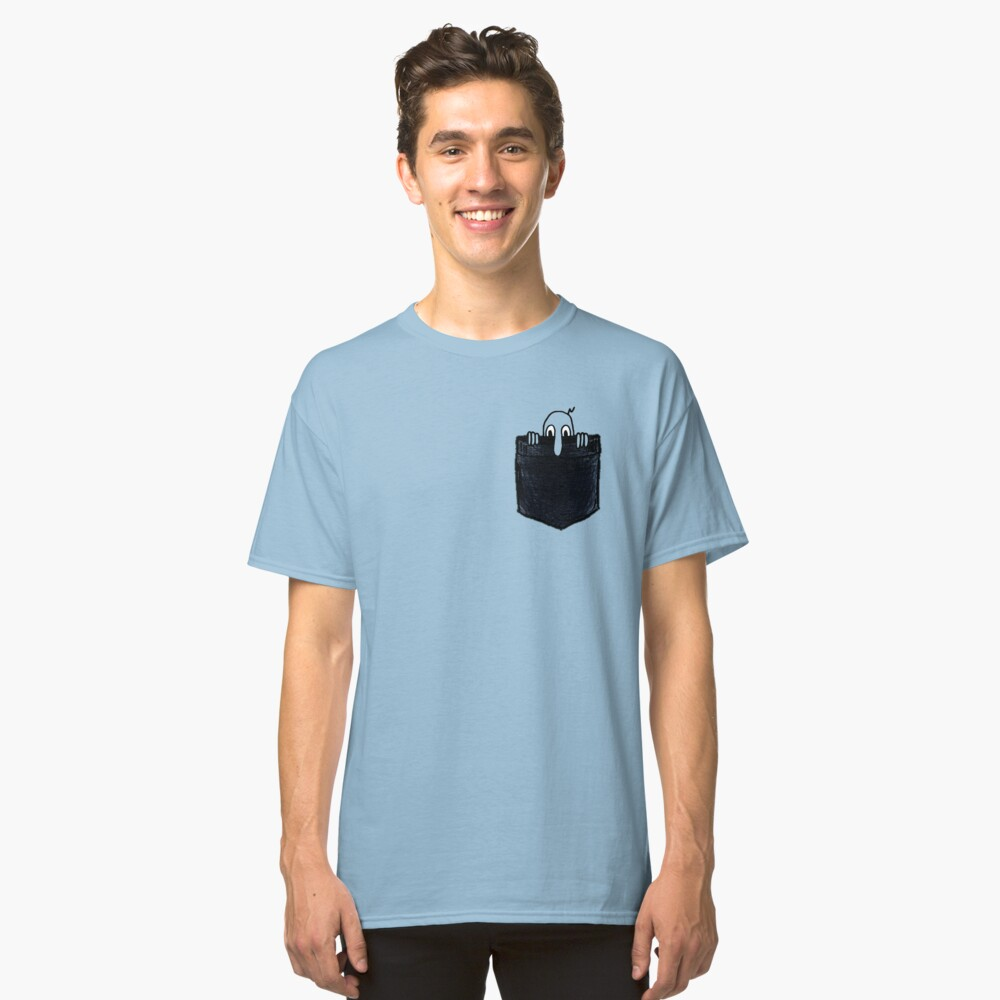 Kilroy Was Here | Pocket Full of Kilroy Classic T-Shirt Front
