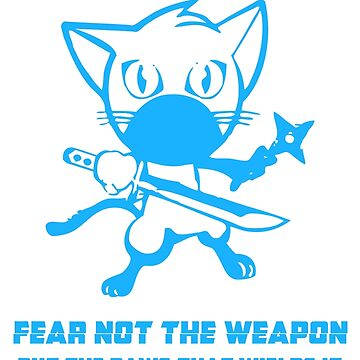 Ninja Cat by DorothyRussell