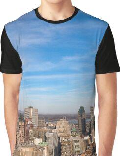 Montreal Skyline Graphic T-Shirt