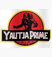 Yautja Prime Predator Jurassic Poster