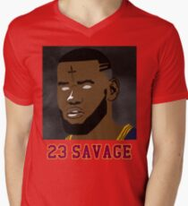 23 Savage Men's V-Neck T-Shirt