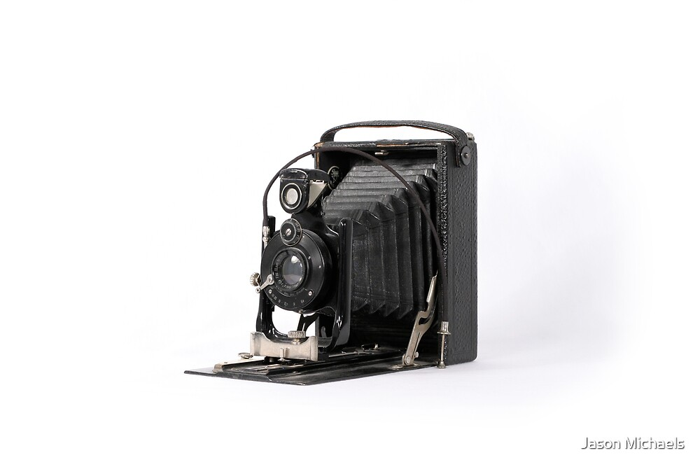 Antique Accordion Camera by Jason Michaels