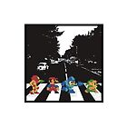 Nintendo Sprites on Abbey Road by TimberRice