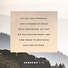 God's Throne - Hebrews 4:16 by wtvrcait