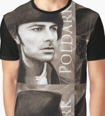 Aidan Turner - Ross Poldark - Pastel Portrait 2 Graphic T-Shirt