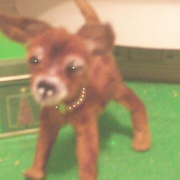 "chihauhau 3"" pup miniature faux fur little ""JOEY"" made for ebay by franniesbest"