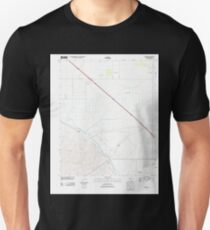 USGS TOPO Map California CA Tupman 20120427 TM geo T-Shirt