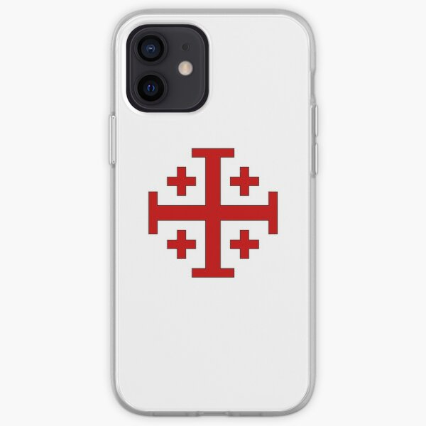 Order of the Holy Sepulchre, Five-fold Cross  iPhone Soft Case