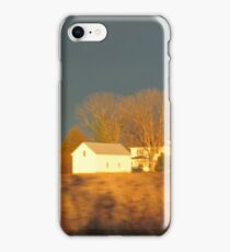 House In The Field iPhone Case/Skin