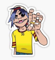 2D Cigarette Sticker