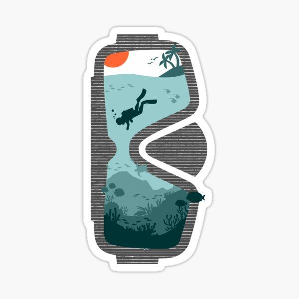 Dive More Sticker