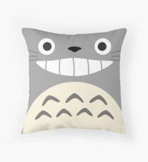 Totoro - Studio Ghibli Throw Pillow