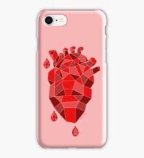 Diamond hearts iPhone Case/Skin